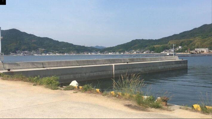 【南倉橋島】の【宇和木波止】の釣り場紹介2