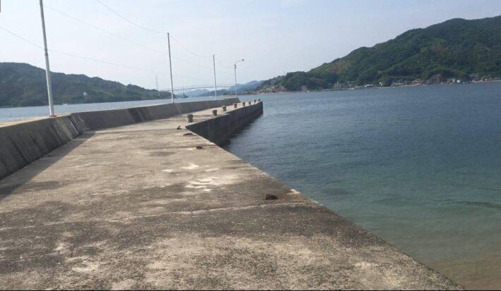 【南倉橋島】の【宇和木波止】の釣り場紹介3